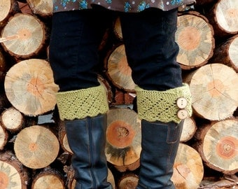 KNITTING PATTERN- Emblazon Boot Toppers PDF Download