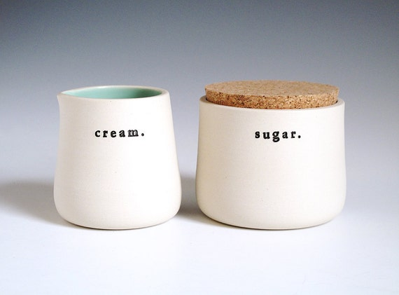 cream & sugar.