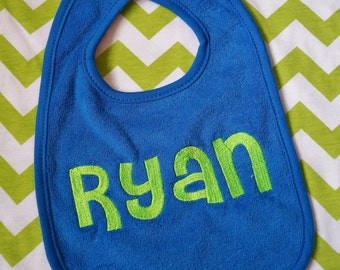 PERSONALIZED BIB ~*Baby or Toddler*~