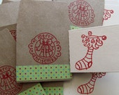 Teeny Envelopes with Teeny NoteTags - Merry Christmas - Set of 12