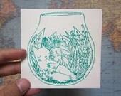 Terrarium Sticker