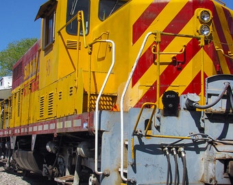Santa Fe Southern Railroad No. 93 giclee print