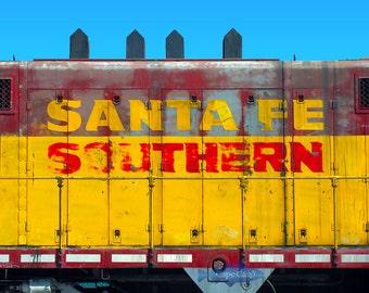 Santa Fe Southern Boxcar giclee print