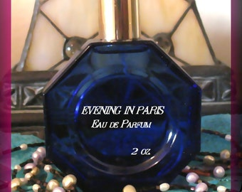 Evening in Paris Perfume A Classic Scent 2 oz. aka Soir de Paris