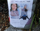 Falling Stars Knit Sweater and Hat Kit - PRICE REDUCED