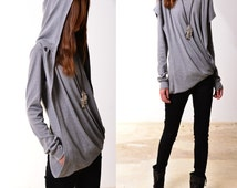 Song of Wanderer - poetic layered cotton hoodie (Y3118)