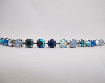 Designer Handmade Bracelet- Genuine Swarovski Crystals