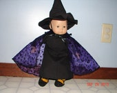 Bitty Baby Halloween Witch Costume