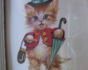 lambert kitty wall hanging