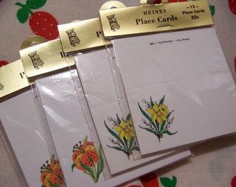 vintage heines place cards