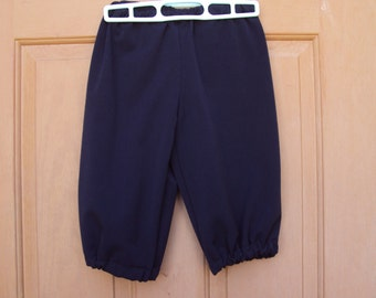 Create your own Costume-- child 12 navy knickers Newsies, school play,ready to ship, Convo for other sizes
