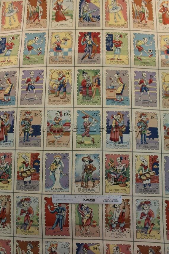 Cartas Marcadas Tea Tan Alexander Henry Mexican Loteria