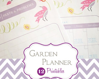 Garden Planning Kit | {12 Printable Pages} | Instant Download