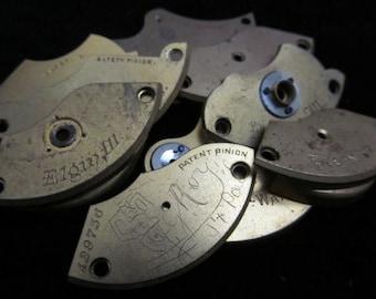 Destash Steampunk Watch Clock Parts Movements Plates Art Grab Bag PR 66