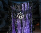 Queen of the Witches . Hekate Magick Candle . 2x3 Pillar