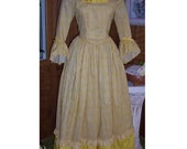 SUMMER SPECIAL -  Pretty Colonial or Pirate Frock, Size M