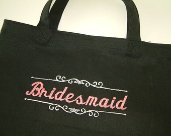 Bridal Party Totes Bridesmaids Flower Girl