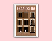Movie poster Frances Ha 12x18 inches retro print