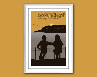 Before Midnight 12x18 inches movie poster