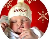 6 custom ornaments 2 sided your photos text holidays kids memorial club baby wedding team parents porcelain or aluminum