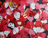 Reds and Pinks Valentines Day Confetti Table Sprinkles Die Cuts