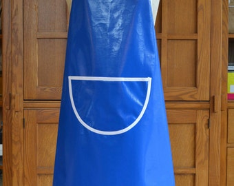 Oil Cloth Apron for Soap Makers and Wet Felting