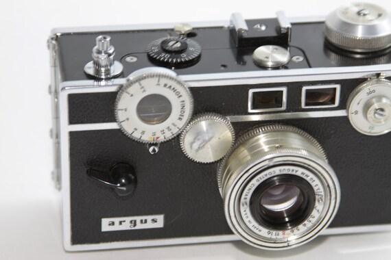 appareil photo vintage argus t l m tre cam ra avec par fleaosophy. Black Bedroom Furniture Sets. Home Design Ideas
