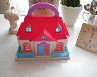 Vintage Hard Plastic Playhouse Polyfect Toys Co Inc LTD