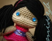 Crochet Doll Pattern - Hannah Doll PDF Pattern - amigurumi pattern - Instant Download
