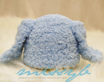Crochet Baby Hat Pattern - Newborn Puppy Hat -  PDF pattern - Fun Photography Prop - Instant Download