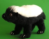 PDF CROCHET PATTERN Baby Honey Badger