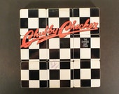 CHUBBY CHECKER recycled The Time Has Come album coasters with wacky record bowl