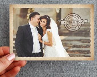 Digital File - Custom Postcards - Hand lettered: Corra Style