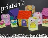 3 Little Piglets for Girls - Printable Toys for Children