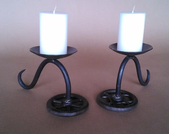 Faucet Candle Holder
