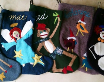 Custom stocking (you choose the subject)