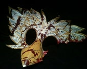 Leather BioShock Splicer Owl Bird Mask