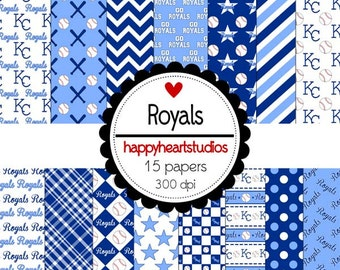 Digital Scrapbook Royals-INSTANT DOWNLOAD