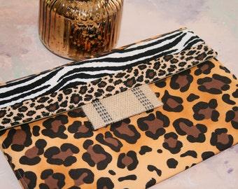 iPad Envelope Case, Ipad Case, Ipad Sleeve, Ipad mini envelope cover, case, ipad Cover in All Animal