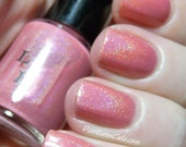 Strawberry Ice Cream Soma Full Size Holographic Nail Lacquer : Literary Liquors Collection