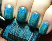 Pan Galactic Gargle Blaster Full Size Holographic Nail Lacquer : Literary Liquors collection