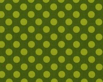 Three (3) Yards - Ta Dot Moss Green Michael Miller CX1492-Moss