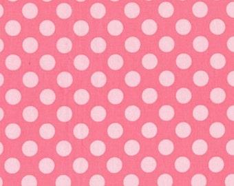 Fat Quarter - Ta Dot Petal Pink Michael Miller Fabrics CX1492-PETA-D