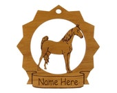 Tennessee Walker Horse Wood  Ornament 088303 Personalized With Your Horse's Name