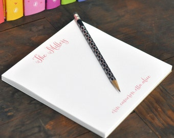 Personalized Square Note Pad