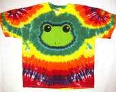 Rainbow Tree Frog Shirt Size Adult XXL