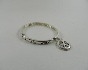 be the change you want to see in the world bracelet