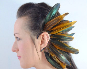Coque Feather Ear Cuff