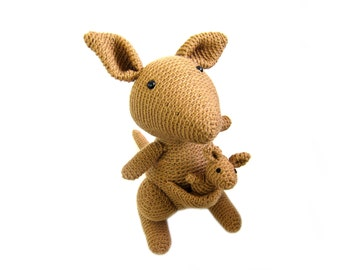 Kangaroo: Amigurumi Crochet PATTERN -pdf-