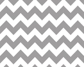 Riley Blake Medium Gray Chevron